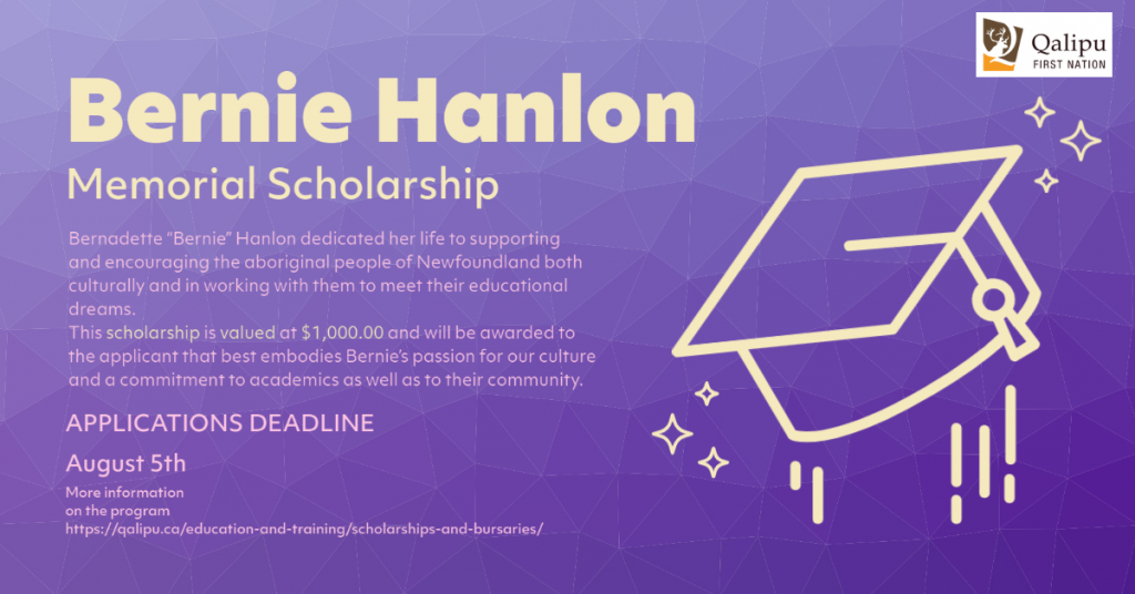 Bernie Hanlon Memorial Scholarship