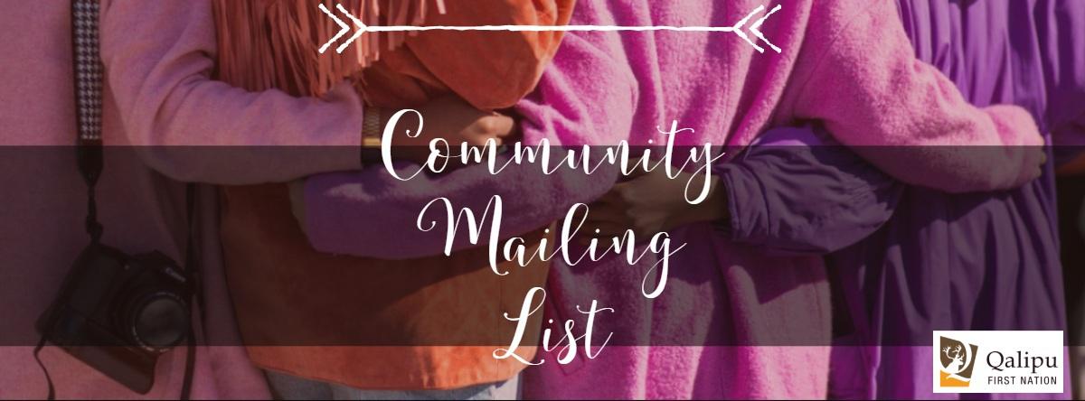 Community Mailing List