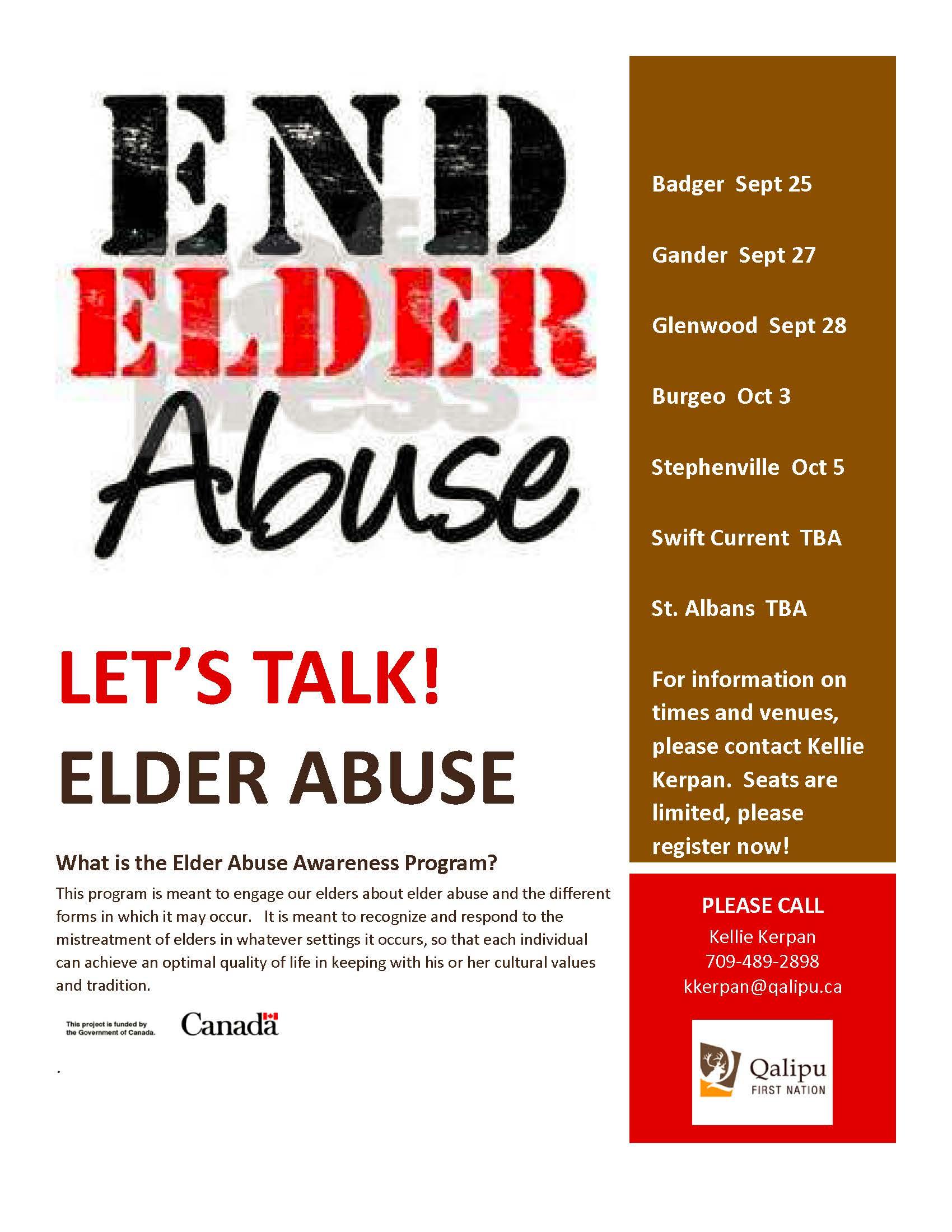 Elder Abuse 2017 poster