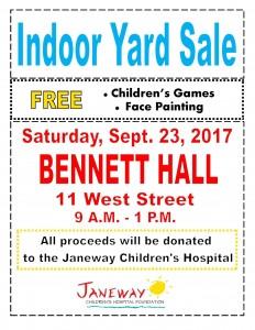 Janeway Yard Sale