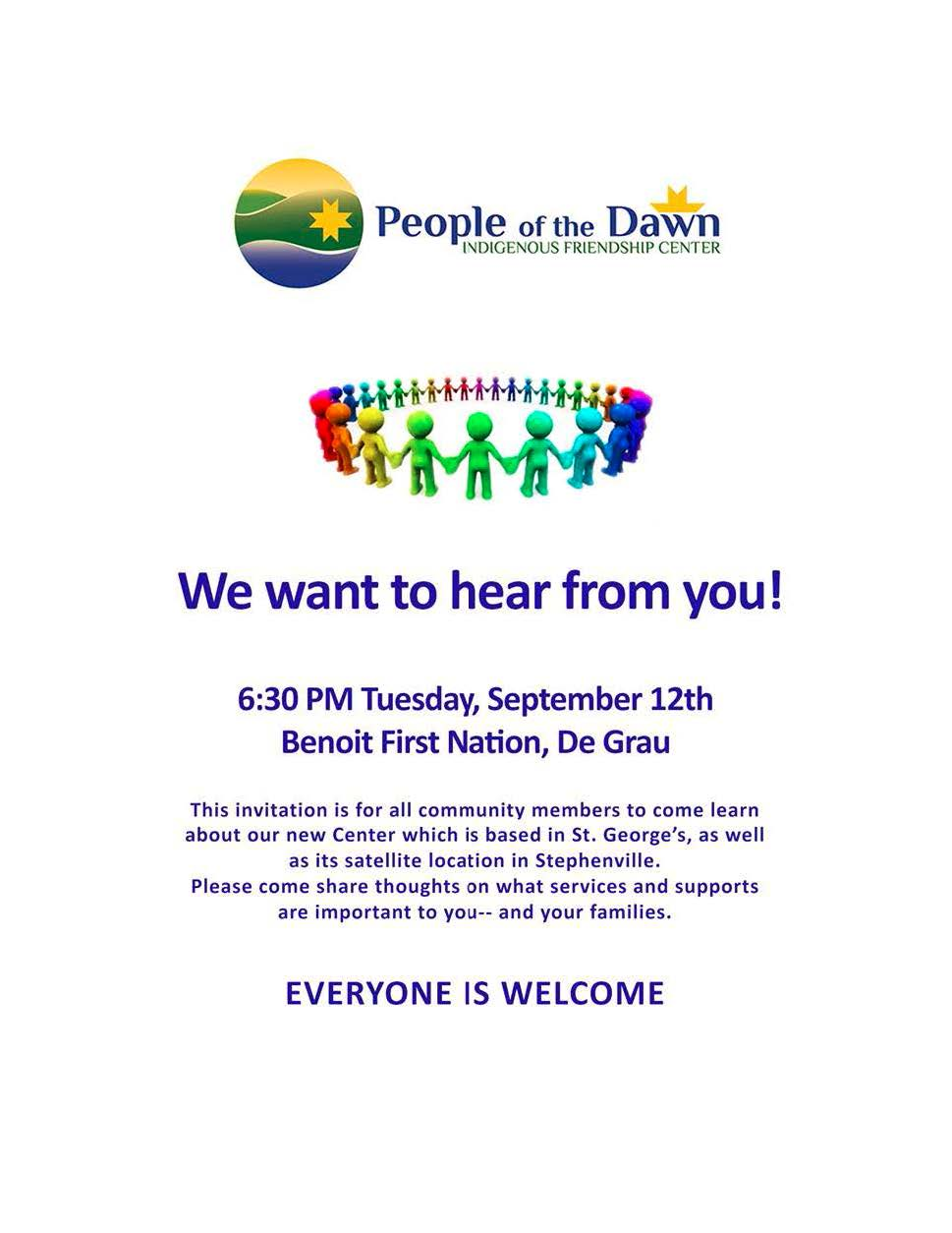People of the Dawn Friendship Center