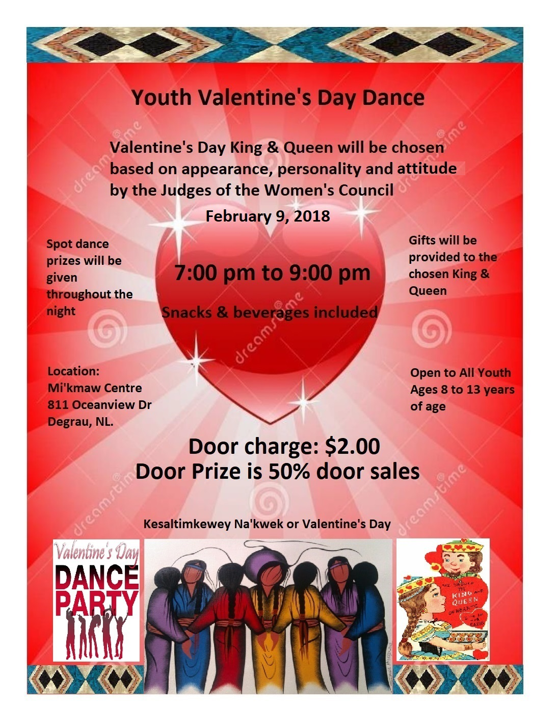 Youth Valentine S Day Dance Qalipu