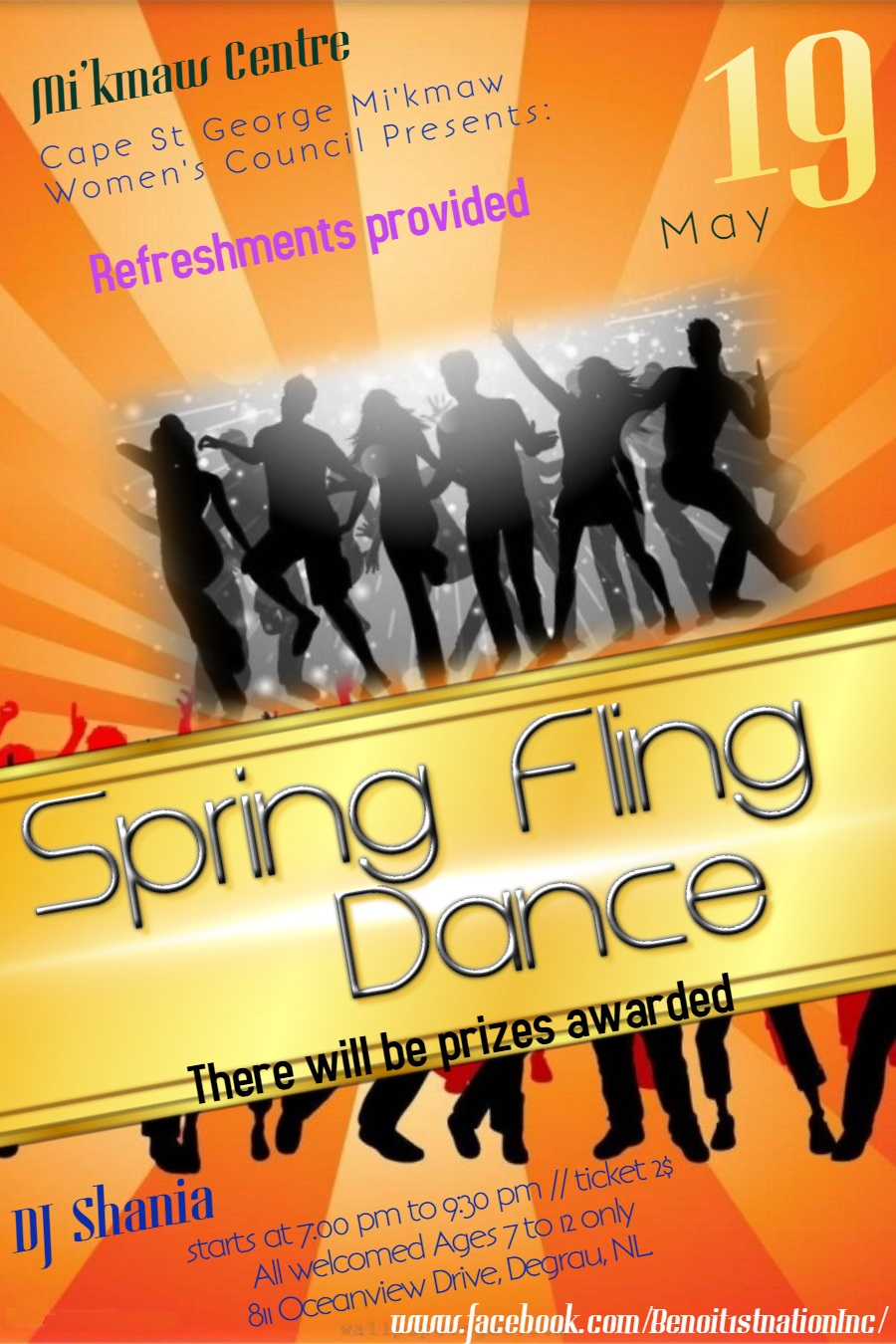 BFN May 19 2018 kids dance poster