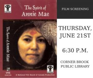 SPIRIT OF ANNIE MAE