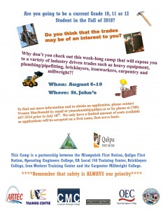 High School Trades Camp Poster (003)