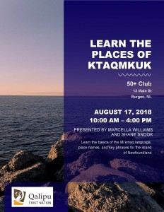 Learn the places of k - Burgeo