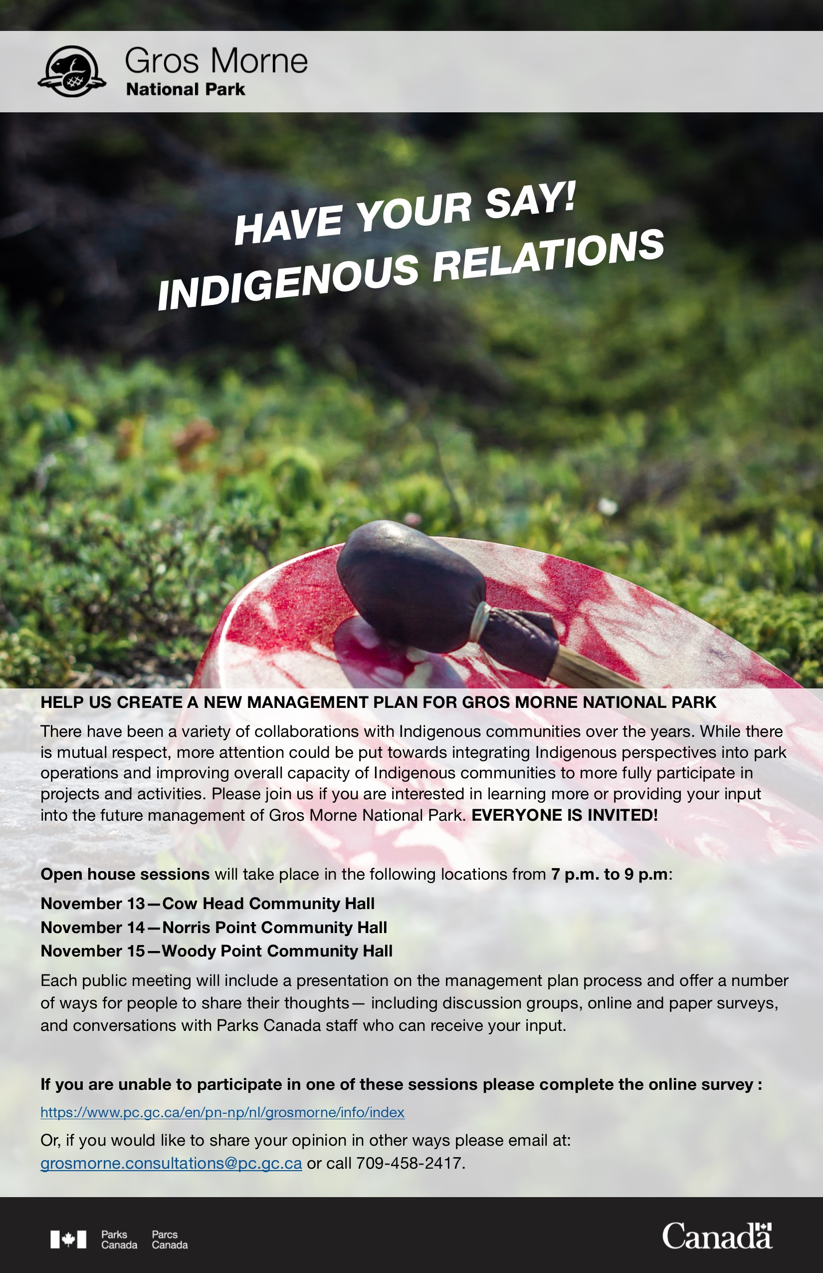 SM ads_GMNP management planning_INDIGENOUS RELATIONS_Oct 29, 2018_EN