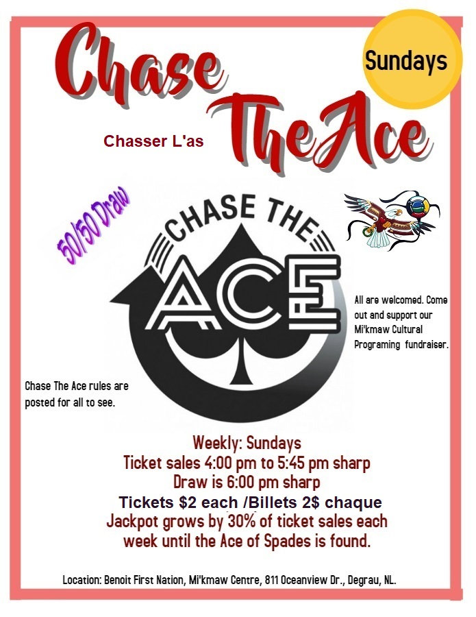NEW CHASE THE ACE POSTER 2018