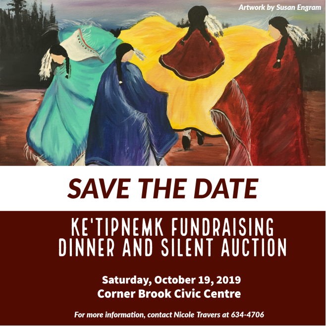 Ke'Tipnemk Fundraising Dinner and Silent Auction