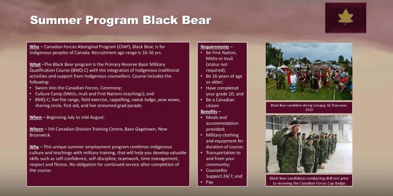 Black Bear 2021 Story Board