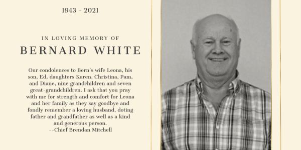 In Memory of Bernard White