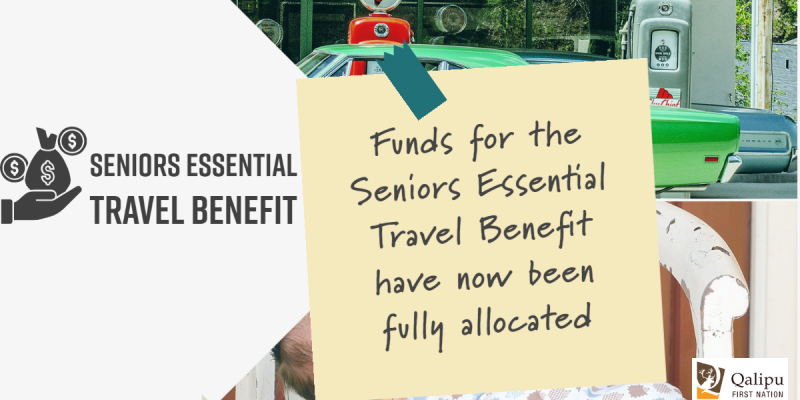 Senior Benefit funds fully allocated