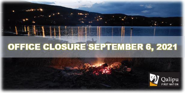 sept 6 closure